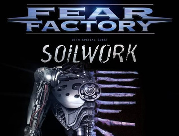 fear factory soilwork tickets april 26 2016 at the greek station salt lake city ut. Black Bedroom Furniture Sets. Home Design Ideas